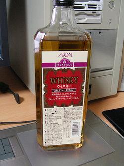 トップバリュのウイスキー