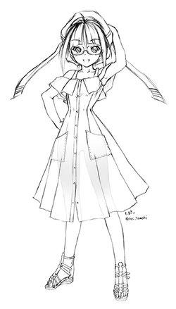 サマードレスの小娘
